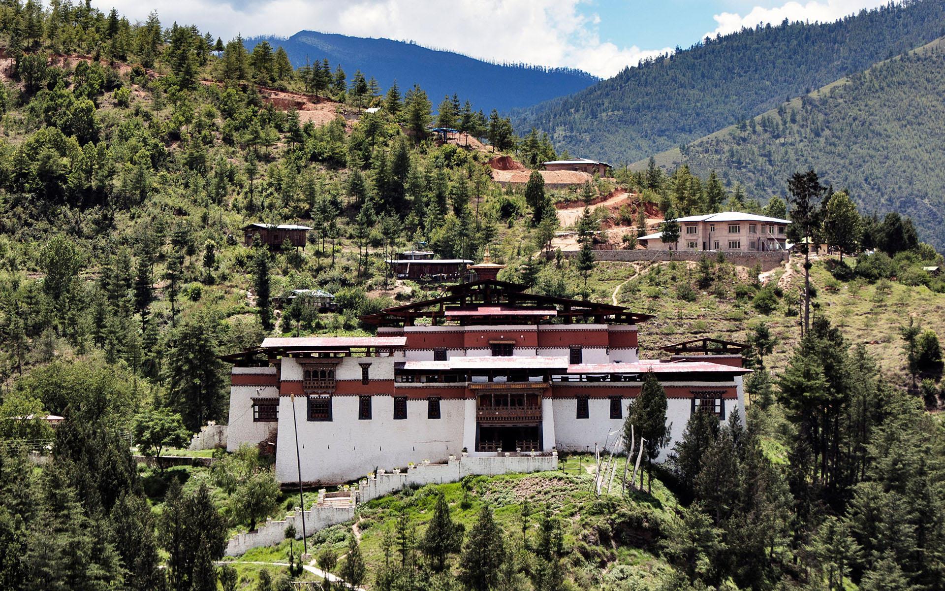 Simtokha Dzong Thimphu Bhutan