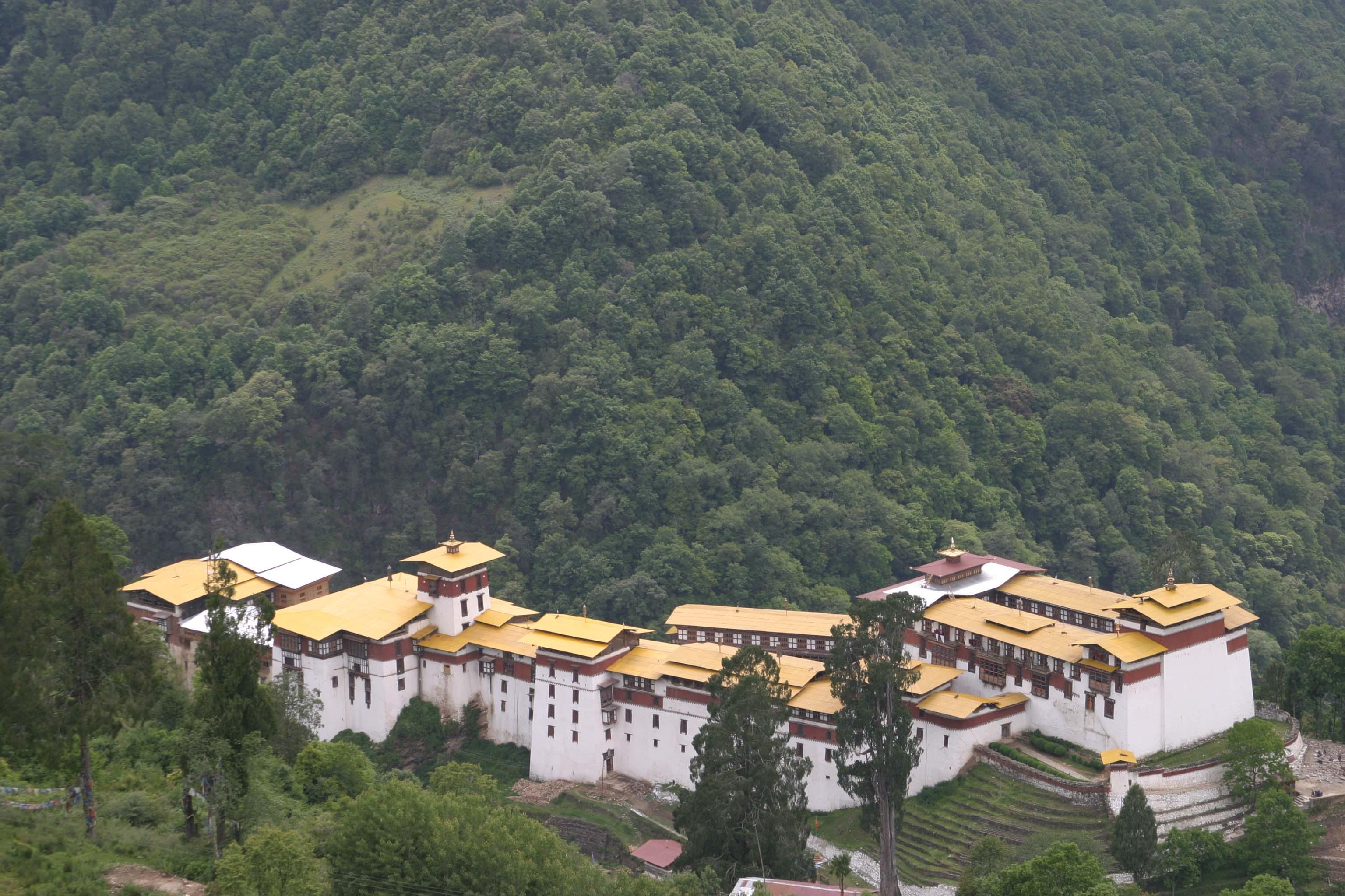 Trongsa Dzong 1
