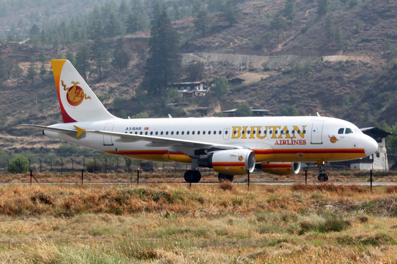 bhutan-a319-100-a5-bab-14grd-paro-bhutanlr